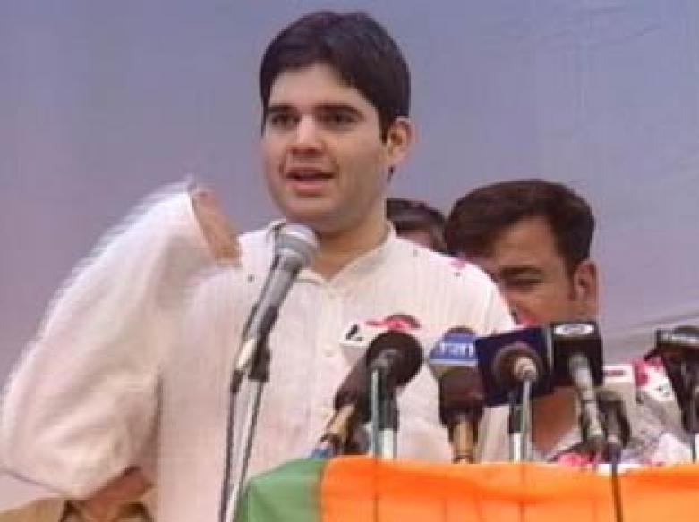 Varun meets RSS leaders, to strengthen BJP in UP