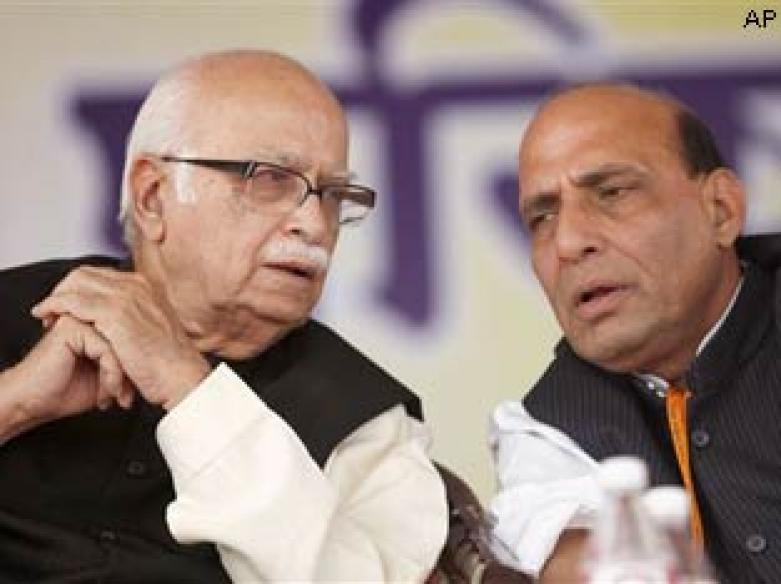 Advani gets LS post, BJP leader sulks