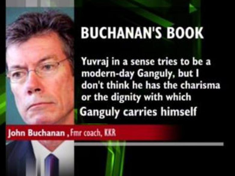 Buchanan slams Indian cricketers in his book