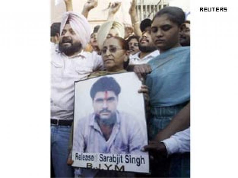Sarabjit Singh appeals to Zardari for mercy