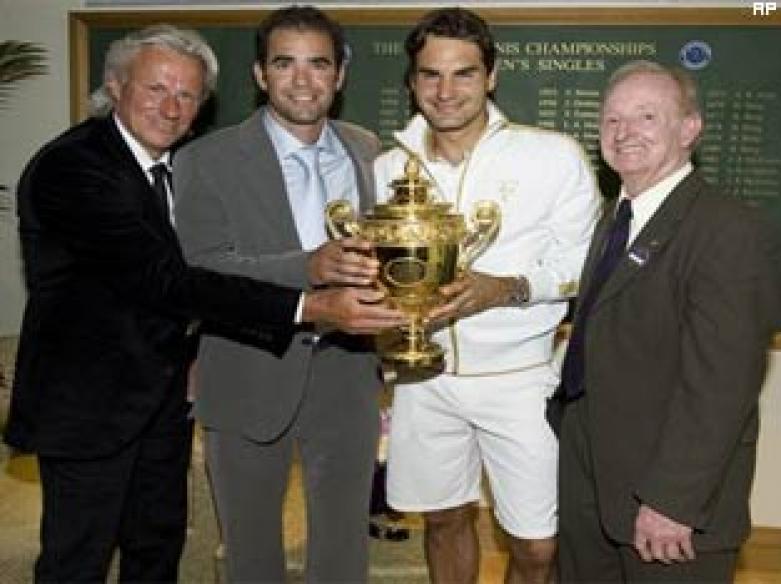 Debate settled: Federer better than Sampras