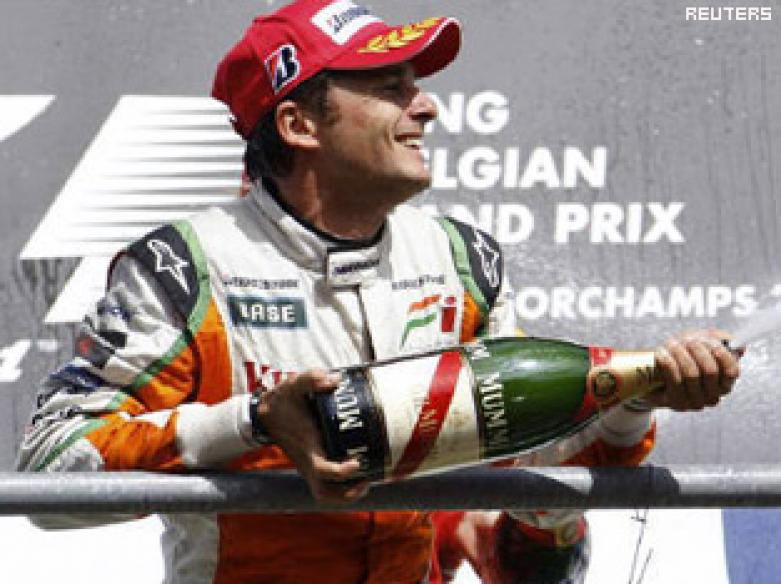 India ecstatic on Force India win