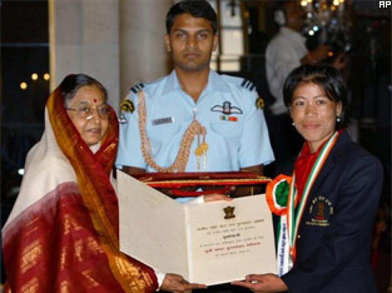 Khel Ratna, Arjuna Awards given to sportstars