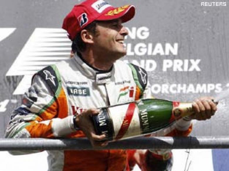 Force India releases Fisichella for Ferrari dream run