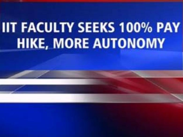 IIT faculty to go on fast against new pay hike