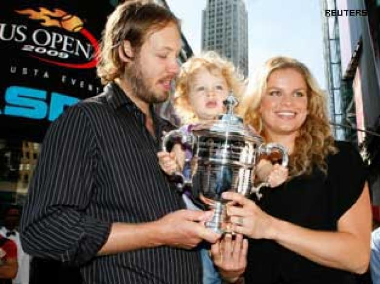 Supermon Clijsters makes an awesome comeback
