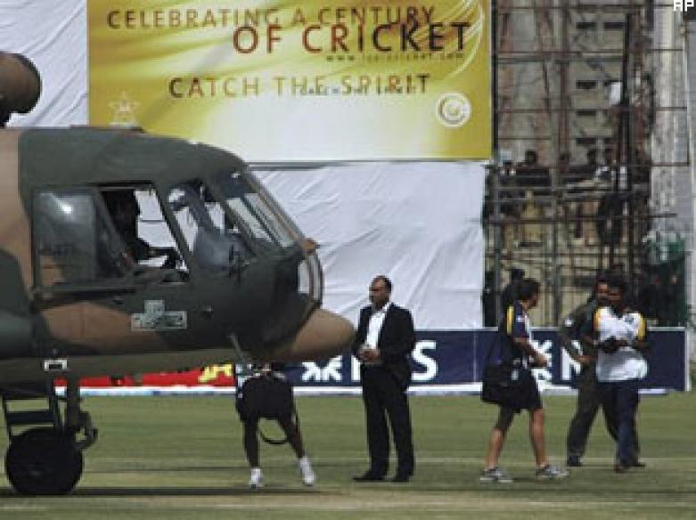 Lankan group behind SL cricket team attack: Pak