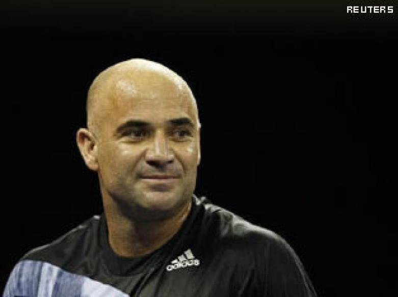 Andre Agassi admits in memoir to using crystal meth