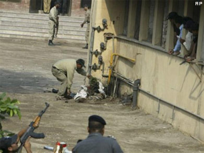 Terrorists storm Lahore; 26 reported dead