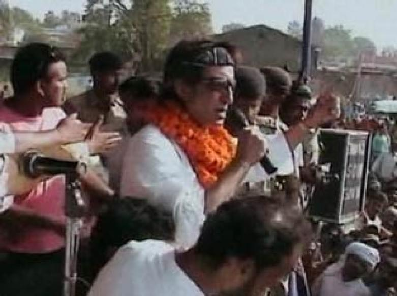 Shakti Kapoor booked for violating Model Code of Conduct