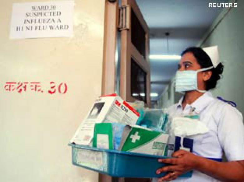 Swine flu toll 351, cases cross 11,000 mark in India