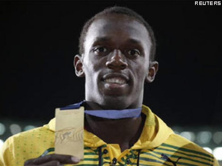 Usain Bolt plays cricket, bowls out Gayle