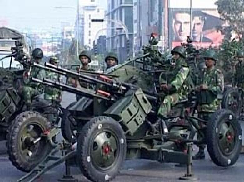 Five Bangladesh officers detained for attack