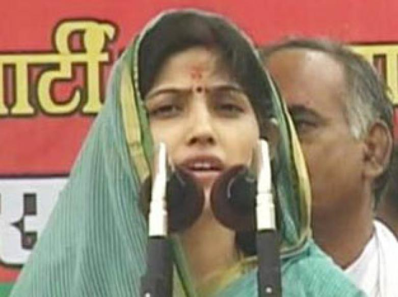 Wife trounced in polls, Mulayam's son takes blame