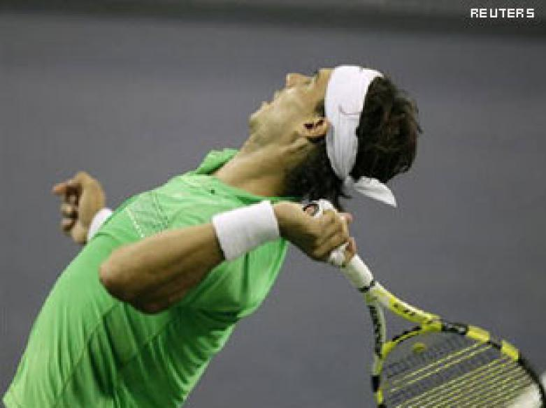 Paris Masters: Nadal edges past Robredo to reach S/F