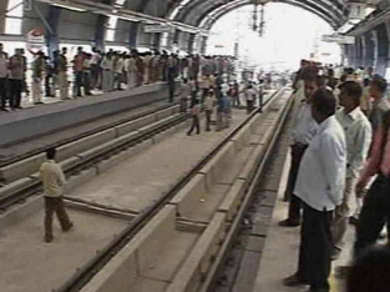 Rowdies, revelers take over Noida Metro on Day 1