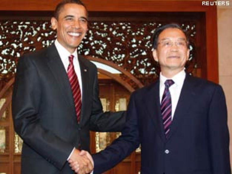 Obama meets Chinese premier, ends `productive' visit