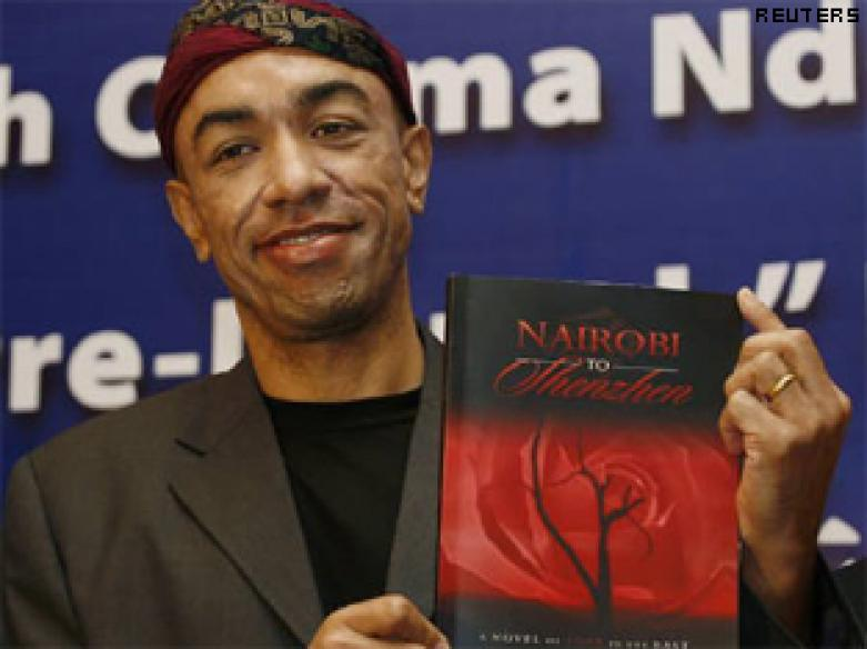 Obama's mystery brother emerges in China with novel