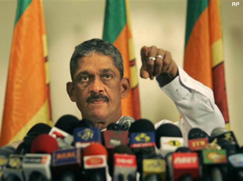 Sri Lanka's ex-army chief to run for president