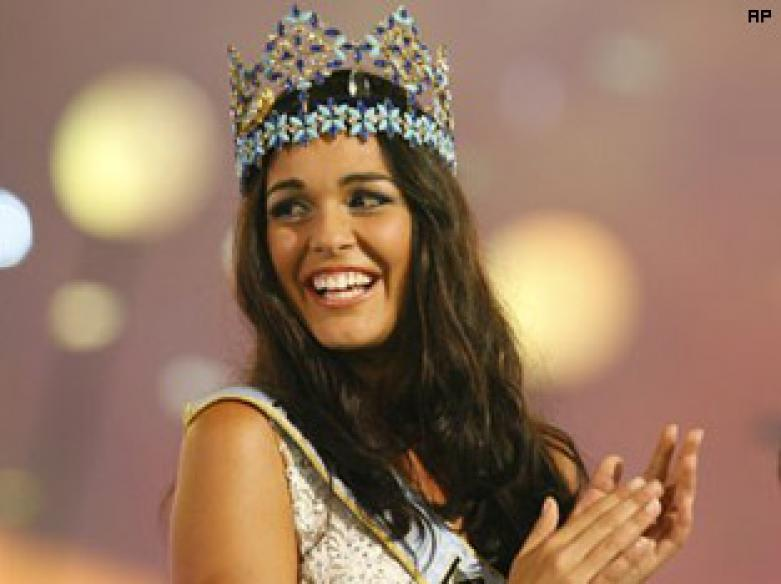 Miss Gibraltar takes home Miss World 2009 crown