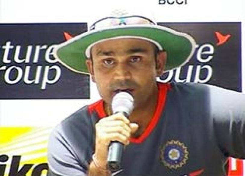 Oh God! Sehwag prayed for Lankans in Rajkot