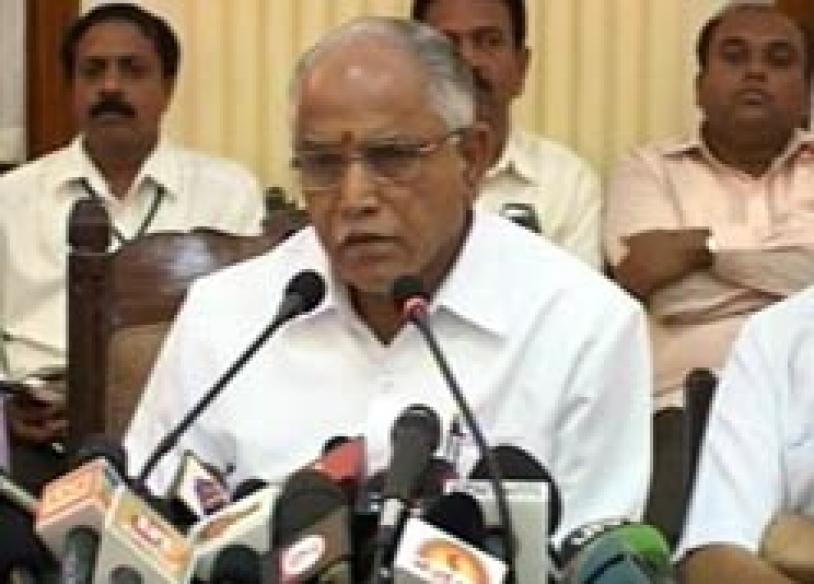 Yeddyurappa says cut off arms of church vandals