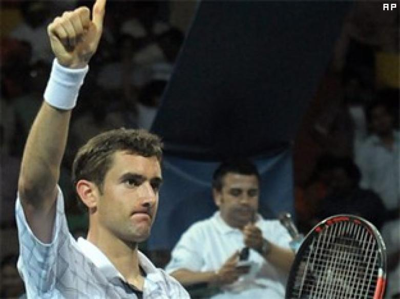 Marin Cilic survives Granollers' scare at Chennai