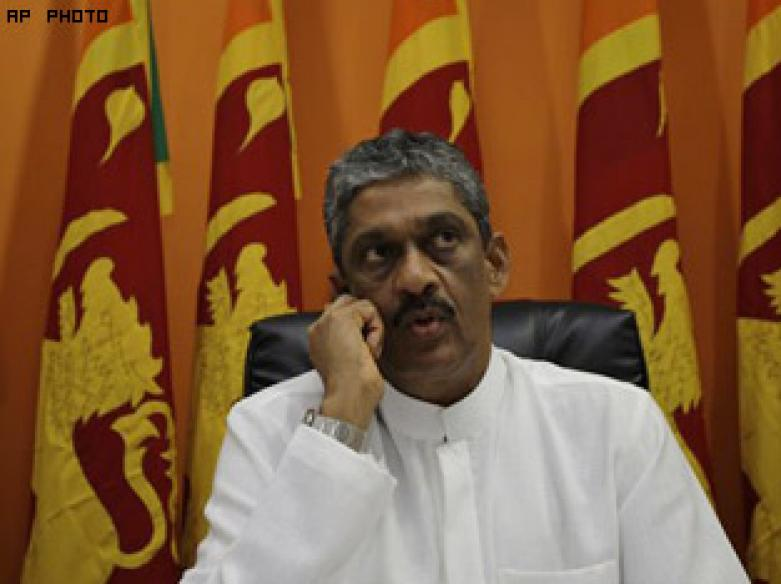 Lanka election loser Fonseka fears for life