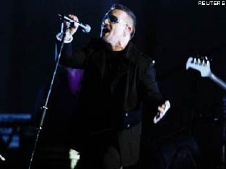 U2 tour tops annual rankings in N America