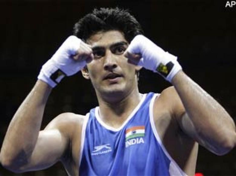 Vijender bags silver in Champions of Champions