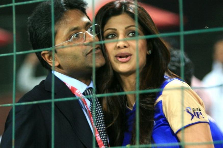 Shilpa Shetty takes Lalit Modi's side