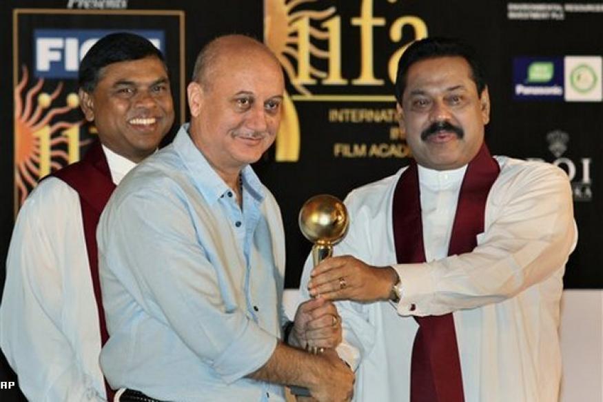 Anupam Kher receives Sri Lankan Award
