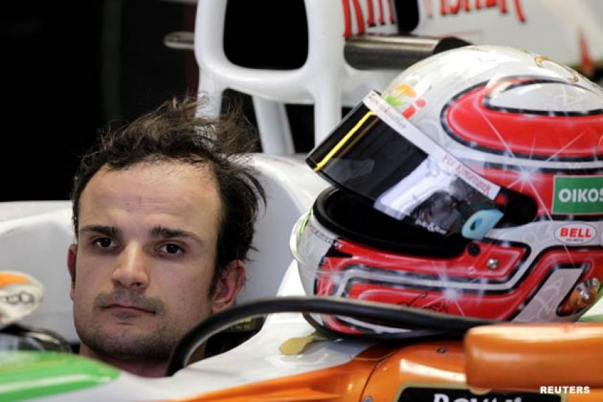 Liuzzi outpaces Sutil in first practice