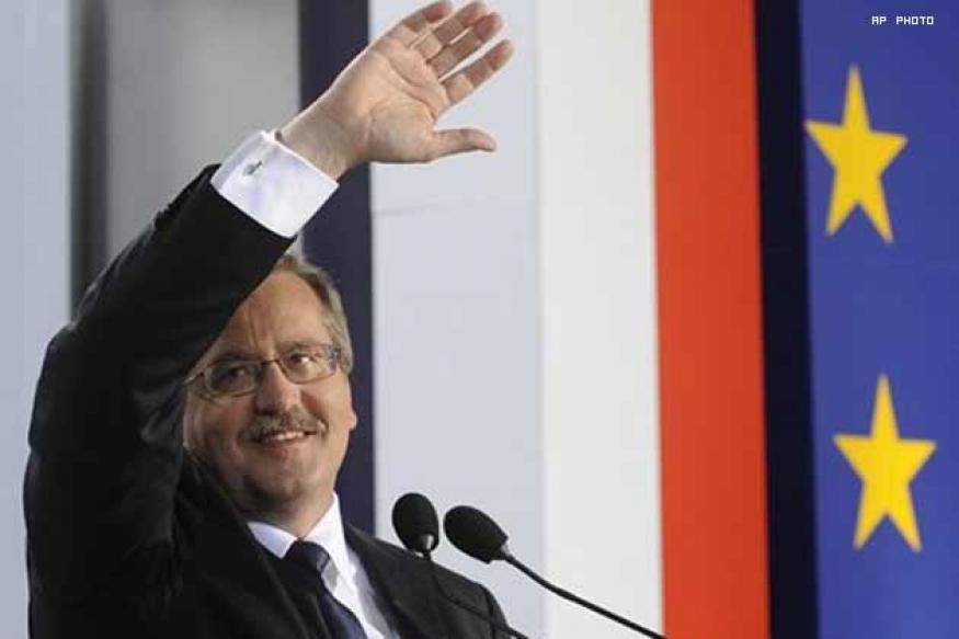 Bronislaw Komorowski  is new Poland President