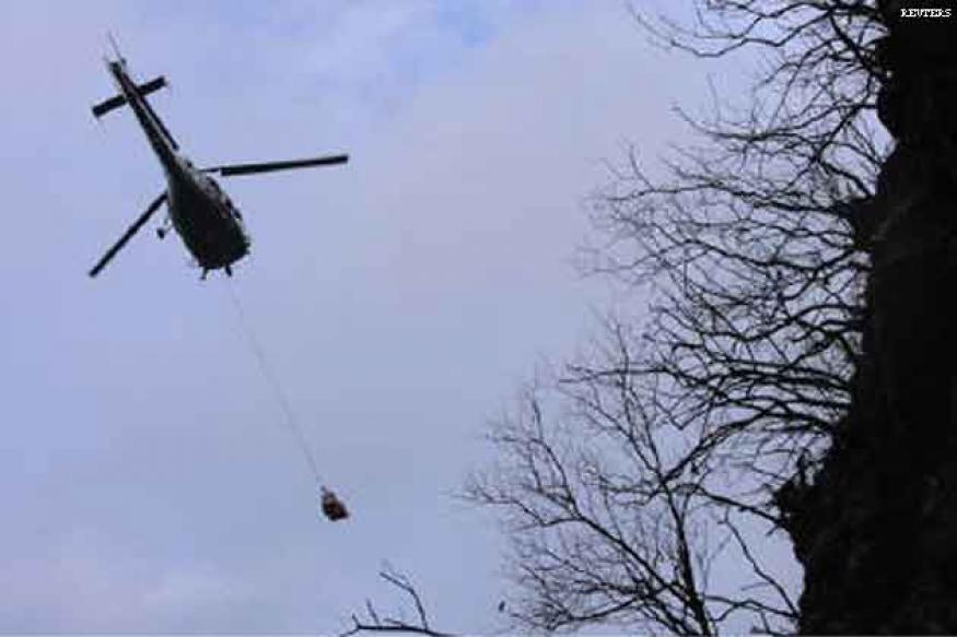 Heavy rains delay salvage of crashed Pak plane