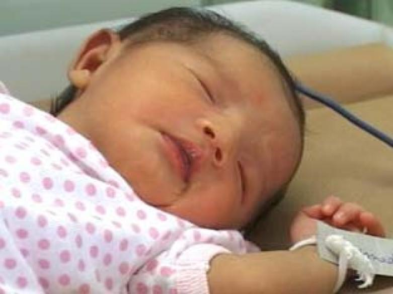 Mother's touch brings 'dead' baby back to life