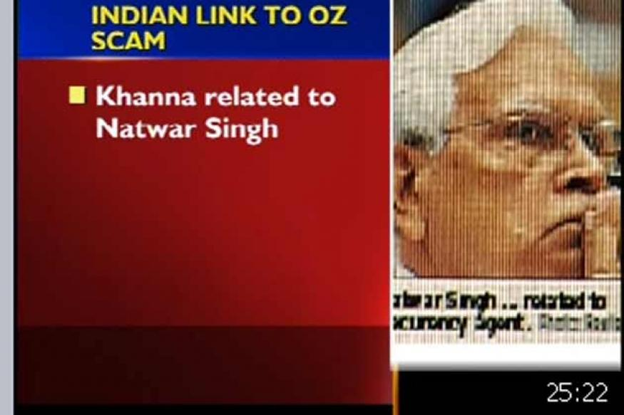 Natwar nephew linked to Oz bribery scandal