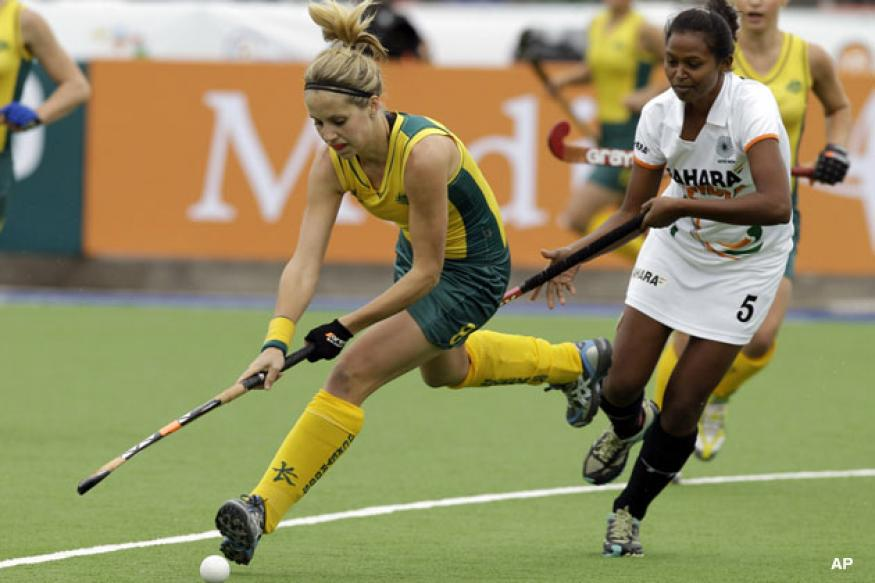 India go down to Aus in women's hockey WC