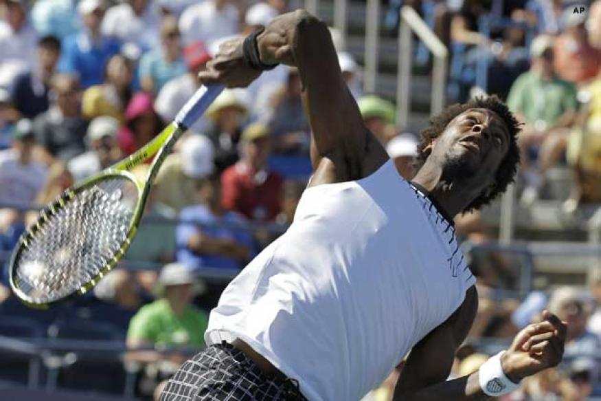 US Open: Kuznetsova out, Monfils in QF