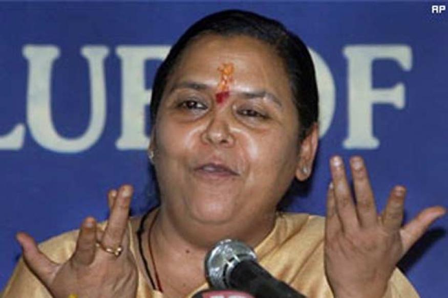 'Life's happiest moment': Uma Bharti on verdict
