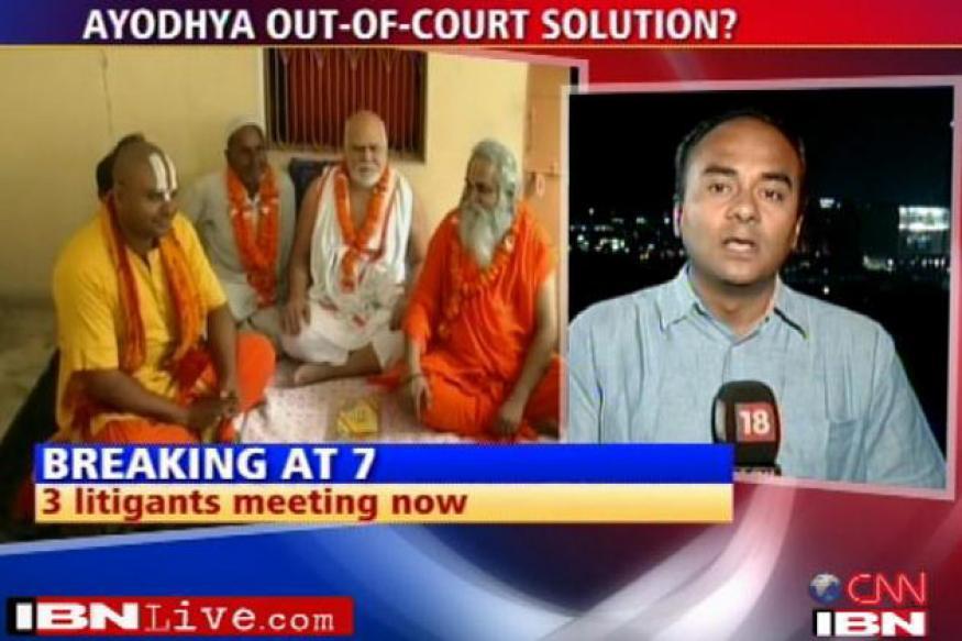 Ram Lalla's friend joins Ayodhya settlement talks