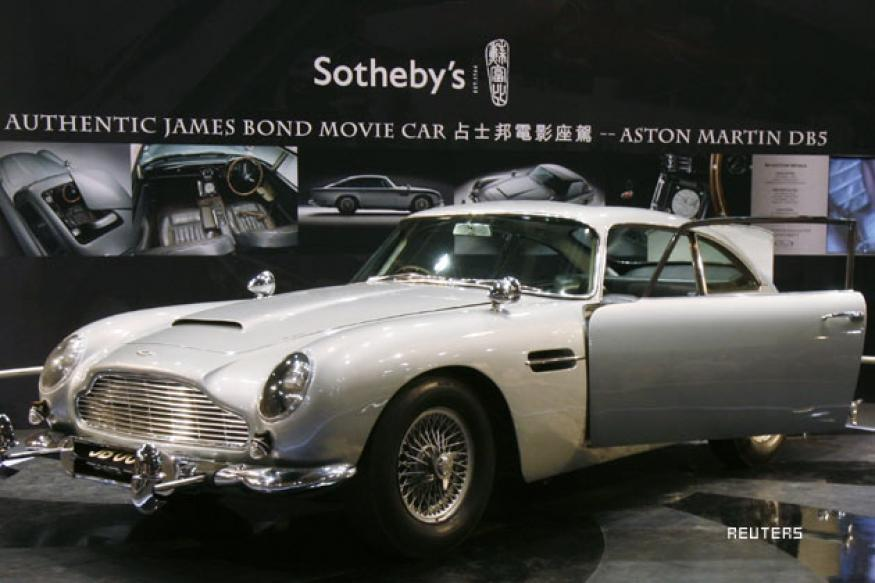James Bond's Aston Martin car sells for $4.6 mln