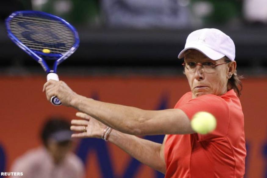 Navratilova wins her battle against cancer
