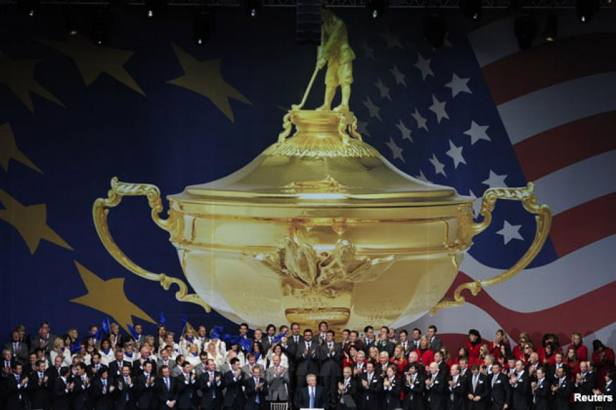 Ryder Cup battle gets underway at Newport