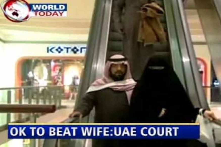 UAE court says it is okay to beat your wife