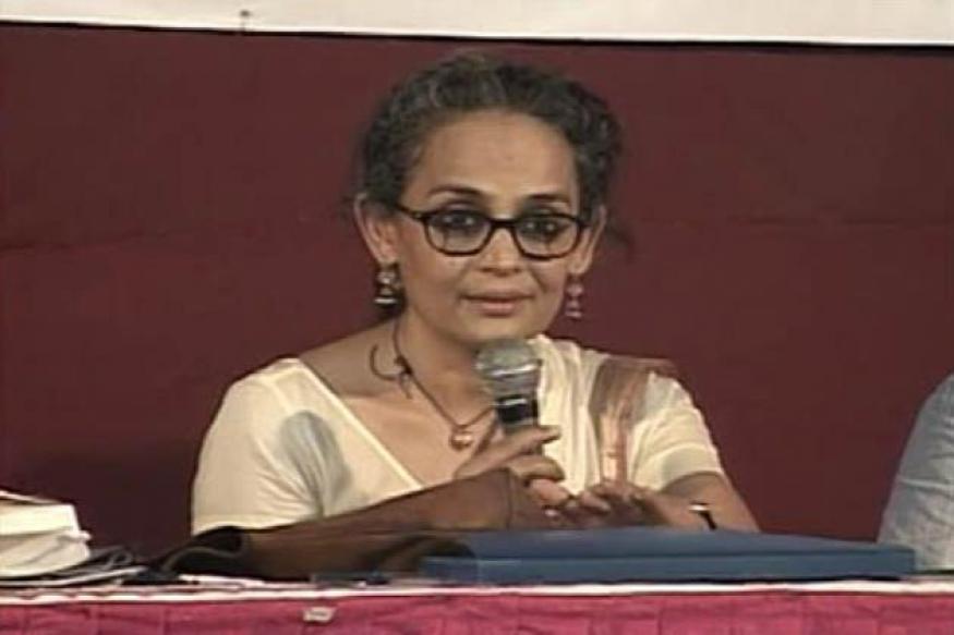 Book Arundhati for anti-India speech: Court
