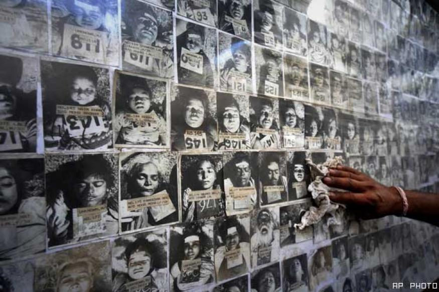 Bhopal gas victims protest against Obama visit