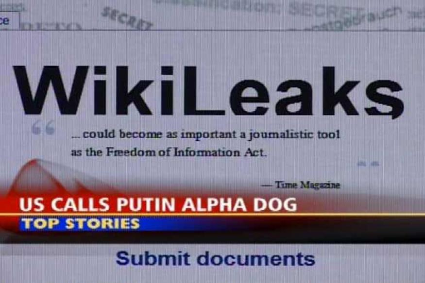 US referred to Putin as alpha dog: WikiLeaks