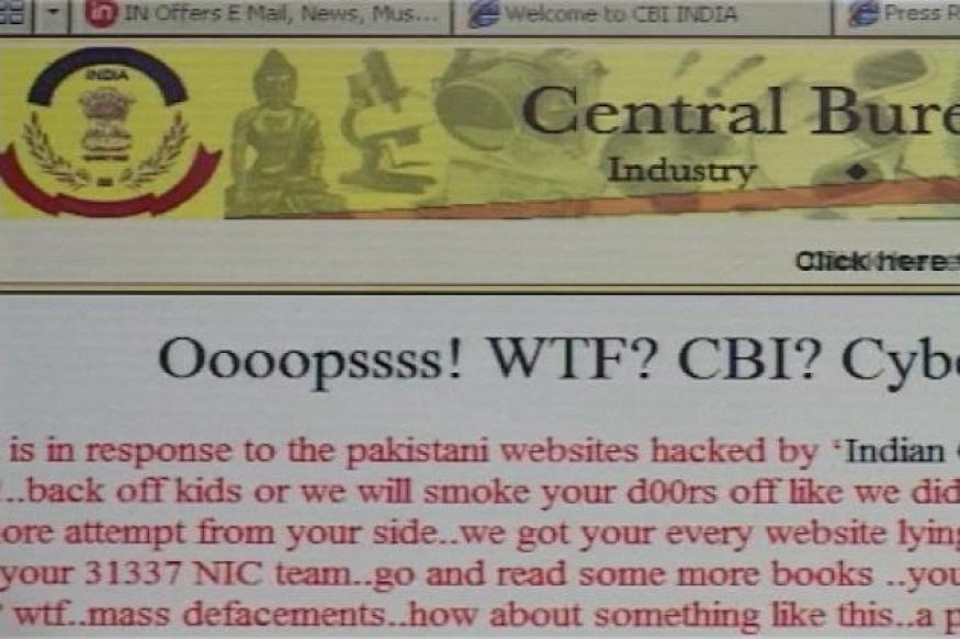 CBI website hacked by 'Pak Cyber Army'