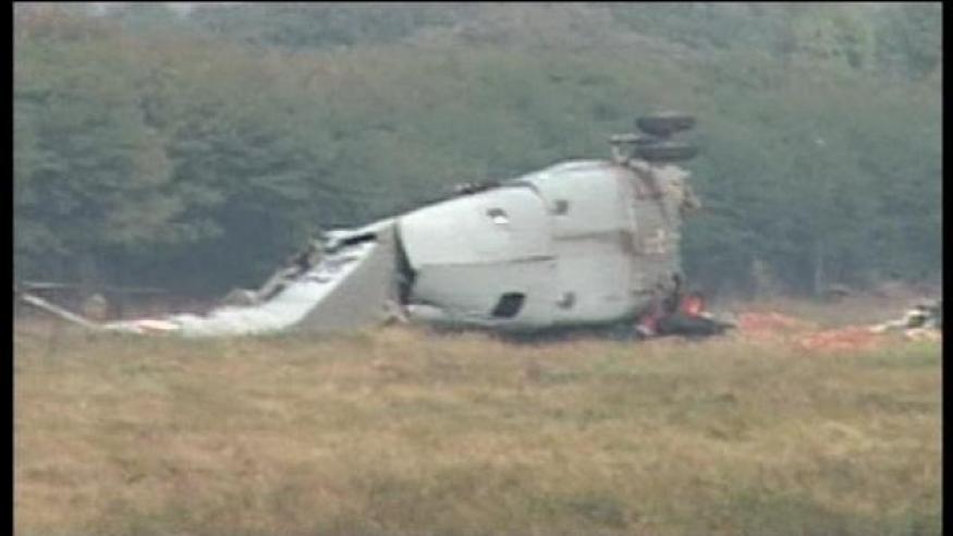 IAF helicopter crashes in Jammu, 8 injured